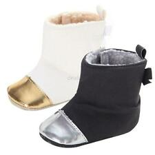 Newborn Baby Infant Toddler Boy Girl Snow Boots Crib Shoes Prewalker Size 0-18M