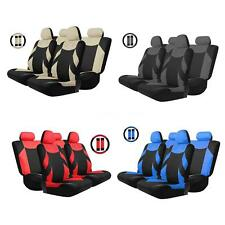 Tirol Universal 13PCS Car Seat Cover Front/Rear Seat Protect Cover 4 Color S2D5