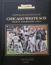 2005 Chicago White Sox World Series Sports Illustrated Paul Konerko Hard Cover