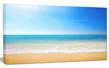Design Art 'Blue Waves at Tropical Beach' Photographic Print on Wrapped Canvas
