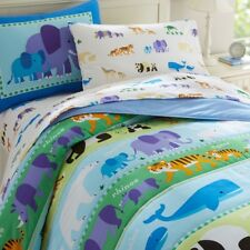 Wildkin Olive Kids Endangered Animals Comforter Set
