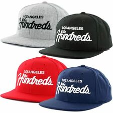 "The Hundreds ""Forever Team"" Snapback Hat Men's Classic Script Los Angeles Cap"