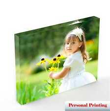 Personalised Acrylic Photo Block with your Photo from 7