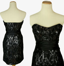 WINDSOR $100 Black Homecoming Evening Club Cocktail NWT-Available Size 3,9,11
