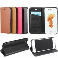 Magnetic PU Leather Folio Flip Wallet Card Stand Case Cover For iPhone 7 7 Plus