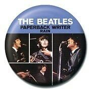 The Beatles Paperback Writer Badge
