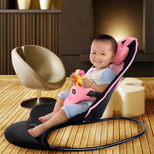 Novelty Adjustable Baby Bouncer Bed Soft Folding Mesh Infant Baby Balance Chair