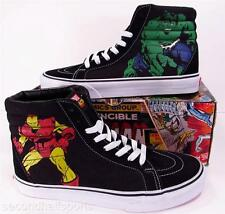 Vans MIGHTY AVENGERS Marvel Sk8-Hi Shoes THOR HULK CAPTAIN AMERICA IRON MAN