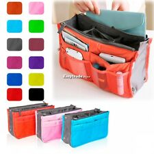 Large Travel Insert Handbag Organiser Purse liner Organizer Tidy Pouch Bag ESY1