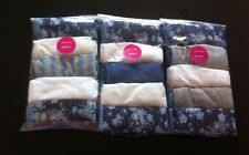 FaMouS Brand M*S Mixed Print Blue/White/Grey 5PK Shorts/Knickers Size 12 **New**
