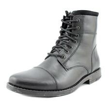 Kenneth Cole Reaction Steer Left Men  Round Toe Leather Black Boot