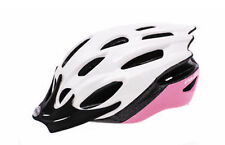 Raleigh Mission Evo Cycling Helmet in White/Pink RRP £21.99