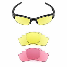 Revant Vented Replacement Lenses for Oakley Flak Jacket - Multiple Options