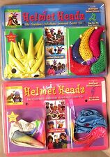 Helmet Headz Sport Helmet Covers-Puffer Fish & Jester OR Unicorn & Jewel BNIP