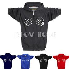 Fashion Mens Coat Hoodie Sweatshirt Outwear Slim Jacket Casual Hooded Tops New
