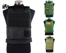 1X Tactical Protector Vest with Plate Carrier Hunting Paintball CS Game Clothing