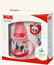 NUK 10225123 Disney Mickey Set, Limited Edition, 3 NUK Products