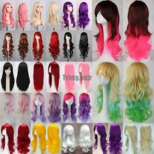"""New Long Lady Costume Hair 23/32/40"""" Wavy Curly Cosplay Wigs Full Wig Women Wigs"""