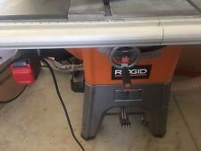 Used 10 table saw for 10 cast iron table saw ridgid