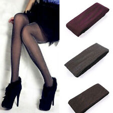 Women Girl Warm Winter Thicken Fleece-Lined Pantyhose Stocking Tights Hosiery