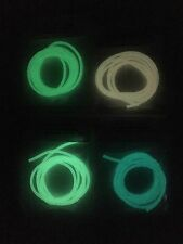 """1yd 3/32""""O.D. Super Glow in the Dark tubing fly tying 1 Last Cast Lures"""