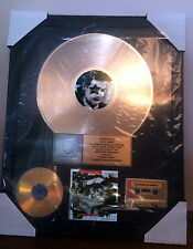 "KISS, Authentic, ""KISS MY ASS"" RIAA GOLD RECORD AWARD, to ERIC CARR"