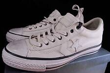 Converse John Varvatos All Star Player Ox Oxford LEATHER OFF WHITE 136687C