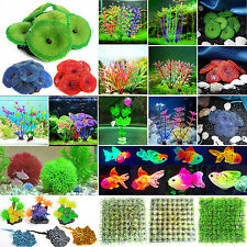 Artificial Grass Coral Fish Water Weed Fish Tank Plants Decor Aquarium Ornaments