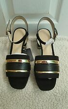 ZARA GOLDEN STRAPS SANDALS EUR 37/38 US 6.5/7.5 REF. 1546/101 NWT!!