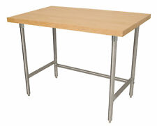 Advance Tabco Wood Top Workbench
