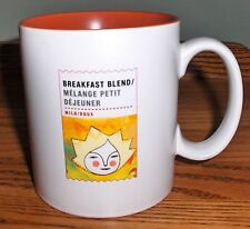 2010 STARBUCKS BREAKFAST BLEND MILD LARGE 15.5 OZ CERAMIC COFFEE MUG CUP