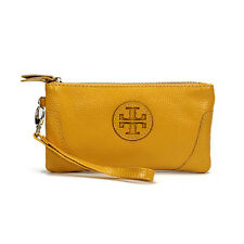 Women's Cowhide Genuine Leather Wallet Phone Coin ID Card Holder Clutch Purse