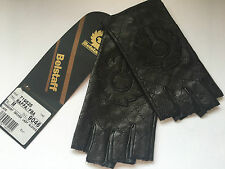 BELSTAFF FINGERLESS DRIVER LADIES GLOVES 100% LEATHER SIZE M BNWT HAPPY BIDDING