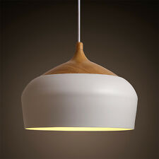 Nordic Japan Simple Style Wood Pendant Light Hanging Lamp Suspension Chandeliers