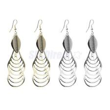 Hot Fashion Hollow Leaf Ethnic Tassels Drop Dangle Hook Earrings Gift