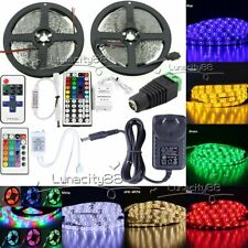 5M 3528 SMD Xmas Flexible LED Strips Light 12V+Remote+2A Power Supply(Optional)