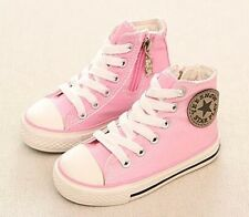 PINK, Converse Style, Canvas Boots for and Girls