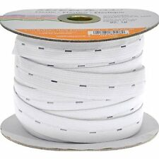 Stretchrite 3/4-Inch by 30-Yard White Buttonhole Knit Elastic Spool