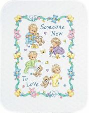 Dimensions Needlecrafts Stamped Cross Stitch Someone New Baby Quilt New