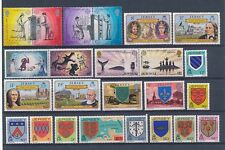 D101137 Jersey Nice selection of MNH stamps