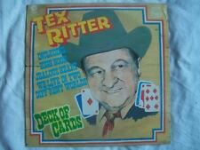 TEX RITTER Deck of Cards LP Sound Clip in Listing Sound Clip in Listing