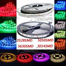 5M 10M 20M 5050 5630 3528 3014 SMD Flexible Ribbon LED Tape Strips Light DC 12V