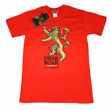 Game of Thrones - Lannister House - Hear Me Roar Sigil OFFICIAL T-Shirt - Large