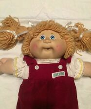 1978-1982 Cabbage Patch Kid Signed Xavier Roberts 1985