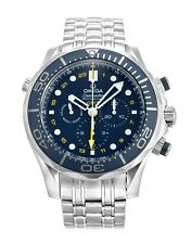 Omega Seamaster Blue Dial Stainless Steel Mens Watch 21230445203001
