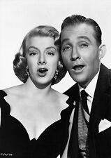 Art Print Poster Bing Crosby and Rosemary Clooney Singing