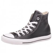 Converse CT Hi Black Shoes Sneaker Chucks Chuck Black leather classic 132170C