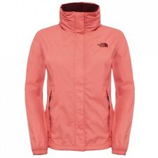 The North Face Women's Resolve Jacket SPICED CORAL Rain Jacket TOAQBJHEY