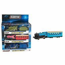 Teamsterz Steam Train Tank Engine Locomotive Carriage Toy Light and Sound New
