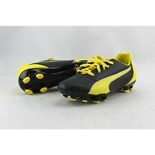 Puma Marco 11 FG Jr Youth US 3.5 Black Cleats Pre Owned 2606